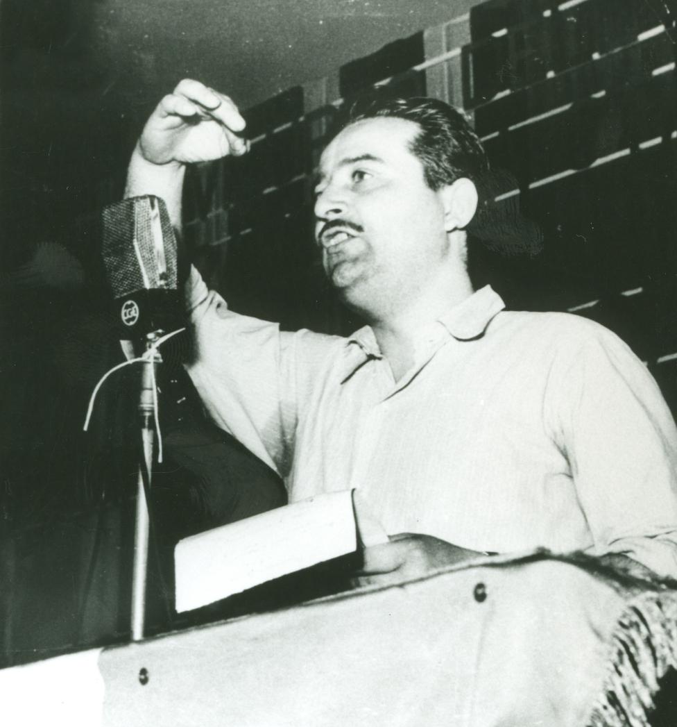1952 - Arvedo Forni - Segretario della Camera del Lavoro