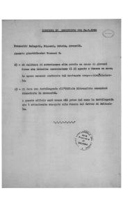 36. 14 luglio 1950. Verbale della Segreteria della C.d.L. provinciale. Si delibera la realizzazione di un corso di formazione per giovani donne.