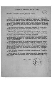 36. 26 maggio 1950. Verbale della Segreteria della C.d.L. provinciale che riguarda la chiusura della Casaralta e la vertenza del Panificio Italiano, che prevedeva 10 licenziamenti.
